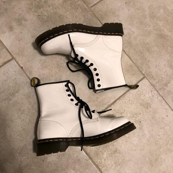 Dr. Martens Shoes | Doc Martens White